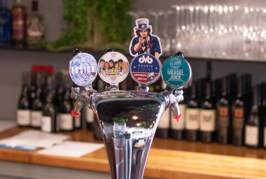 Staten Eatery Tribute to American beers, made locally by Wellington's best artisans